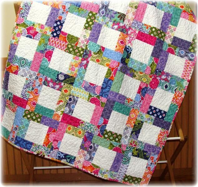 Picture of: Custom Scrappy Quilt Patterns