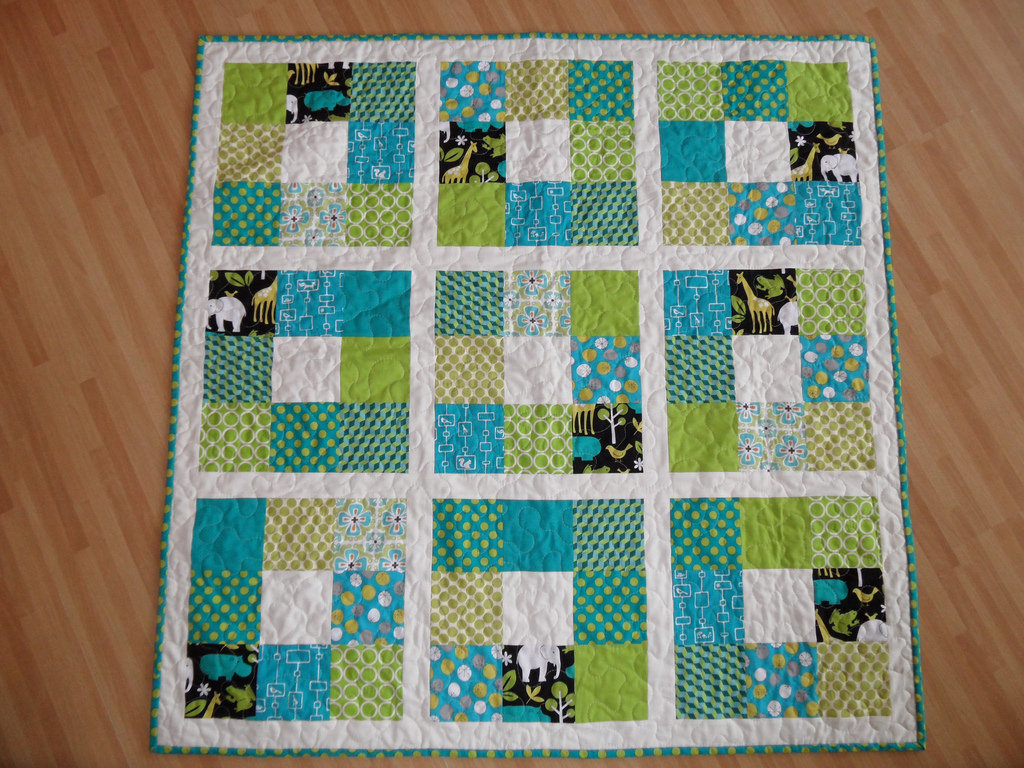 Image of: Cute Baby Boy Quilt Patterns