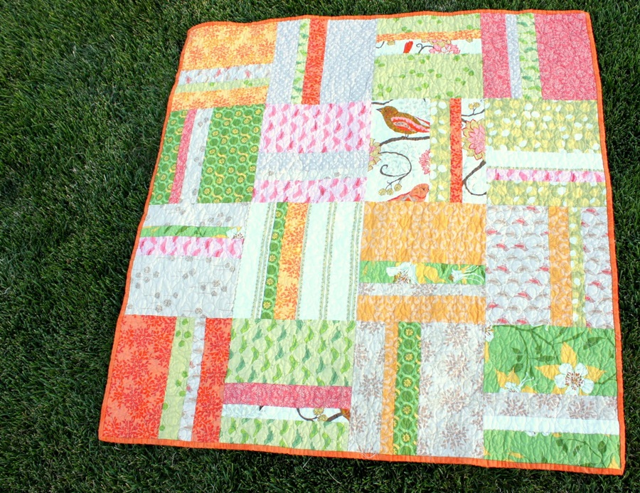 Image of: Cute Baby Quilts Patterns