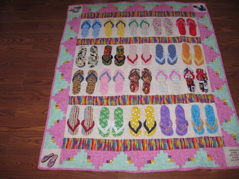 Image of: Cute Hawaiian Quilt Patterns