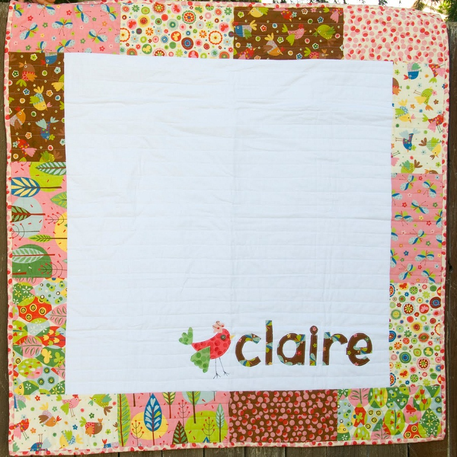 Picture of: Cute Personalized Baby Quilts