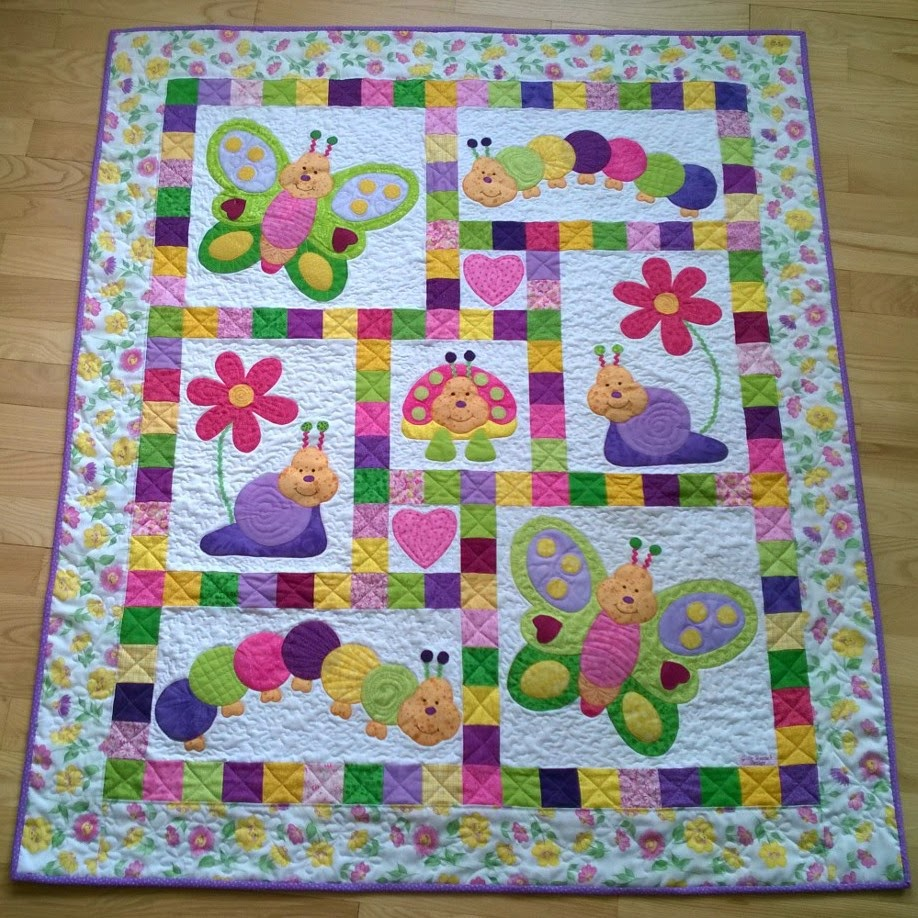 Picture of: Cute Simple Baby Quilt