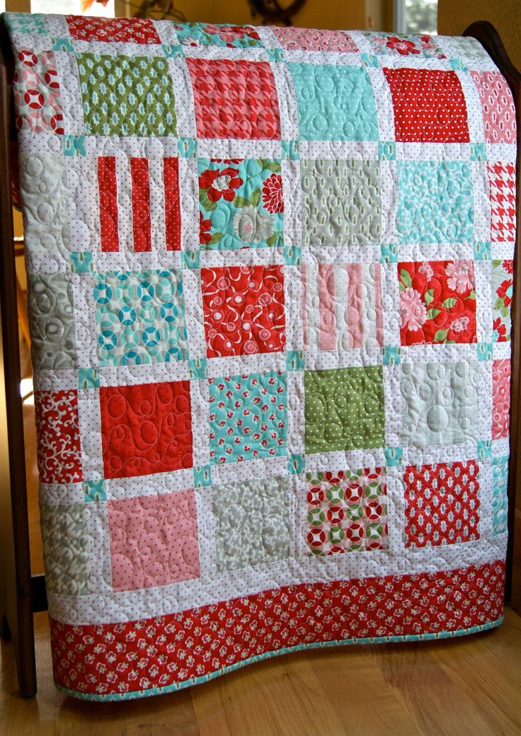 Image of: Design Baby Patchwork Quilt