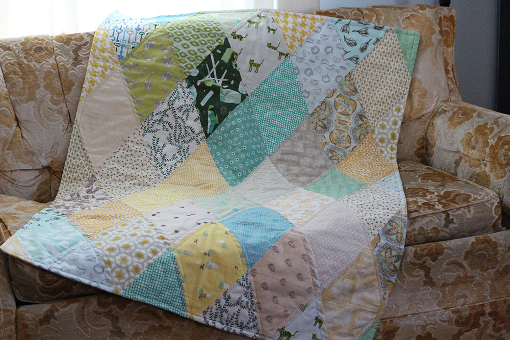 Picture of: Diamond Quilt Pattern Color