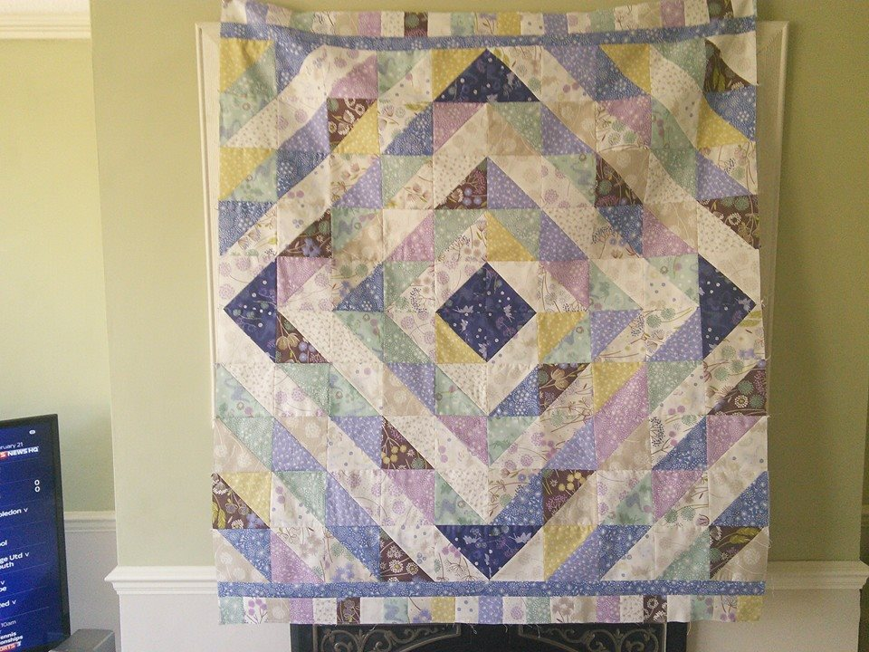 Image of: Diamond Quilt Pattern Style