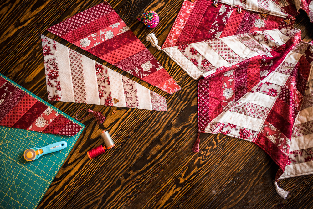Image of: Diy Quilted Tree Skirt Pattern