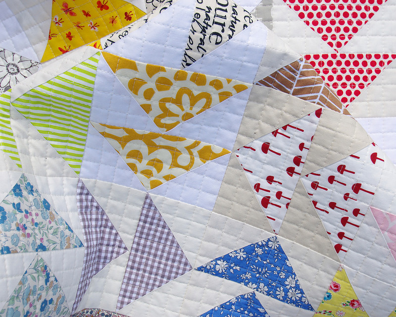 Image of: Double Flying Geese Quilt S2