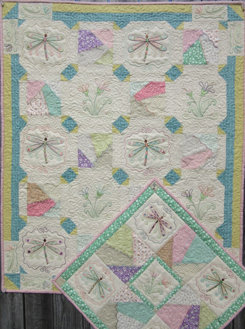 Picture of: Dragonfly Embroidery Quilt Patterns