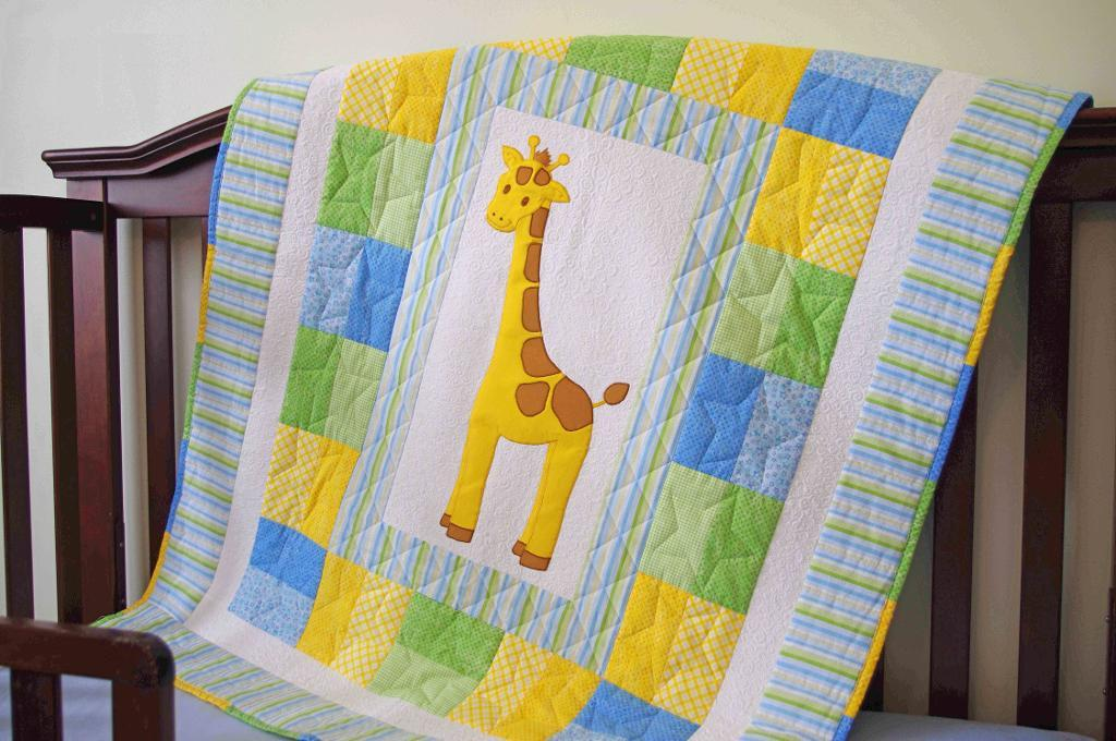 Picture of: Easy Baby Quilt Patterns Giraffe