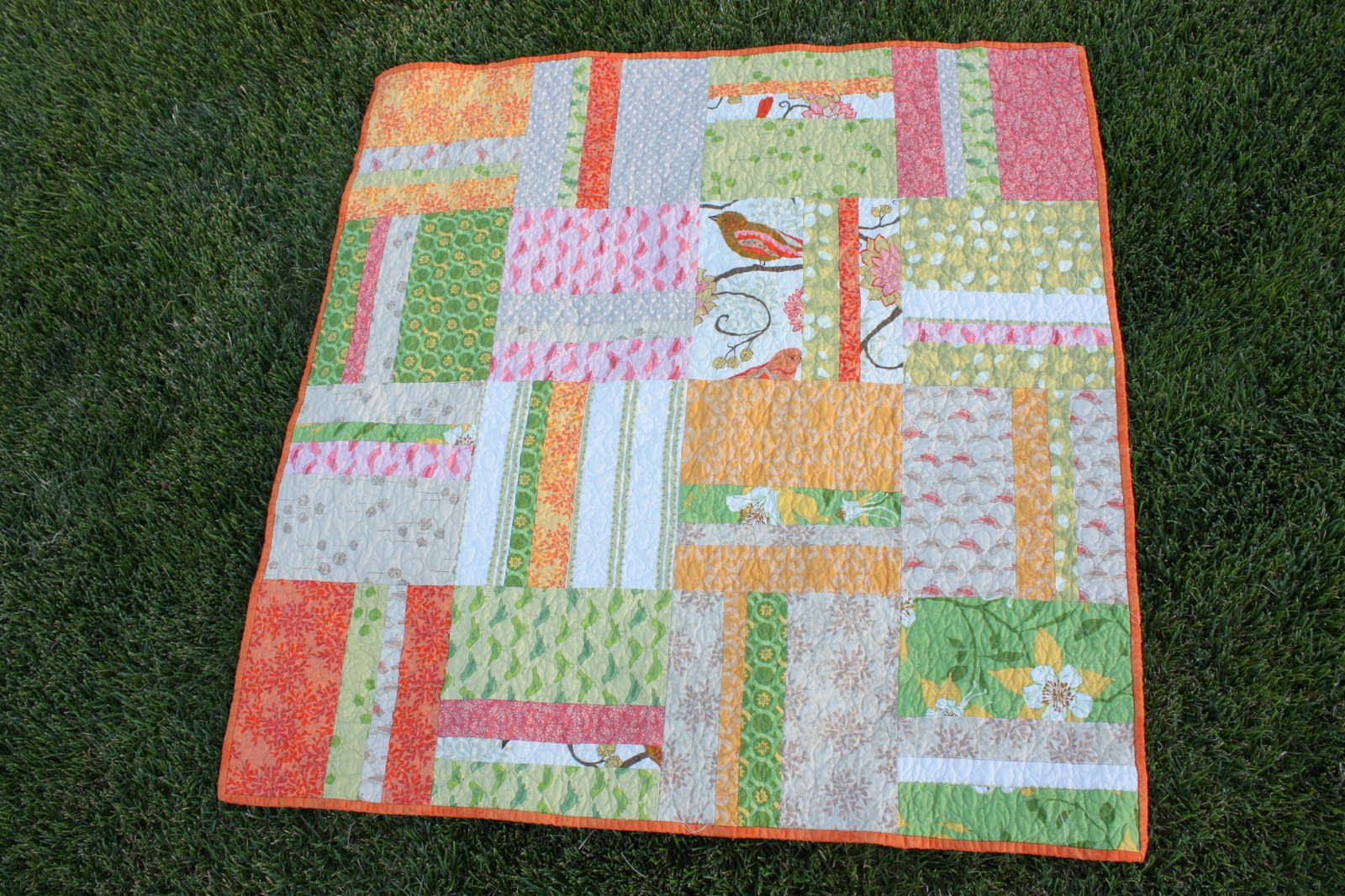 Picture of: Easy Baby Quilt Patterns Simple