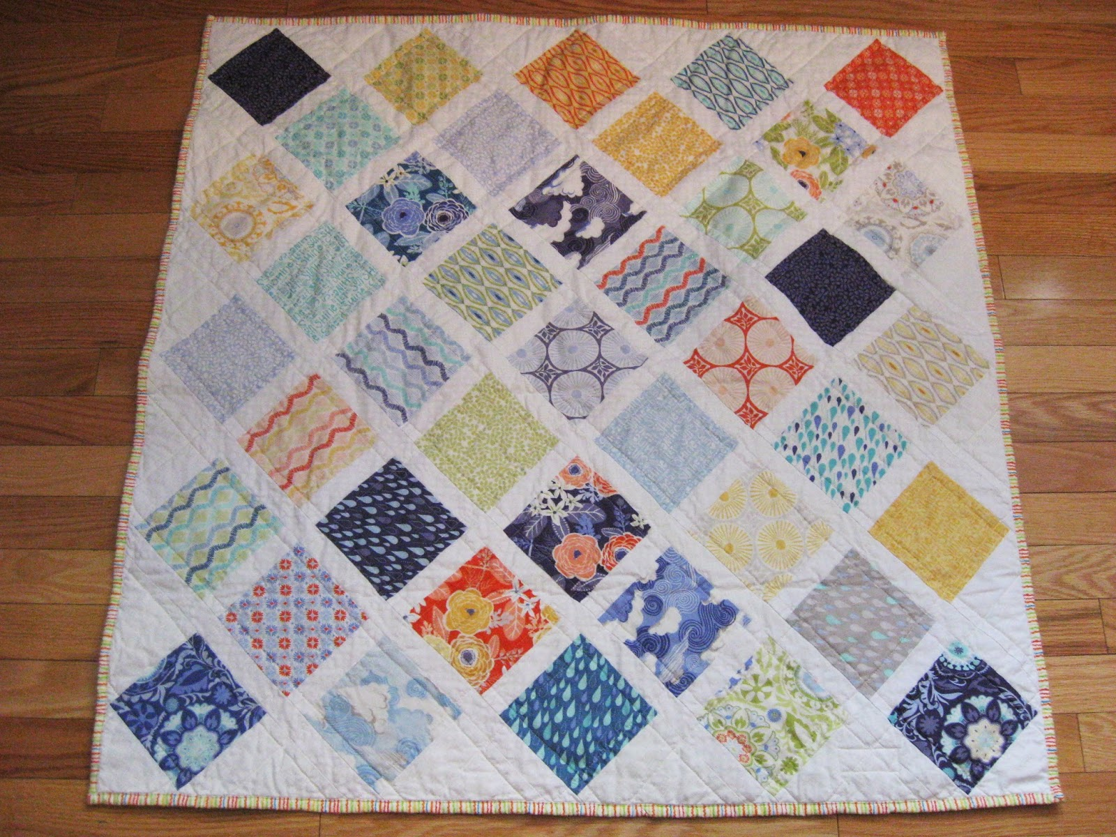 Image of: Easy Baby Quilts Cube