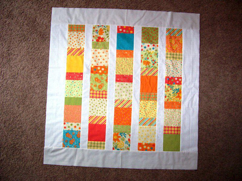 Image of: Easy Baby Quilts Style