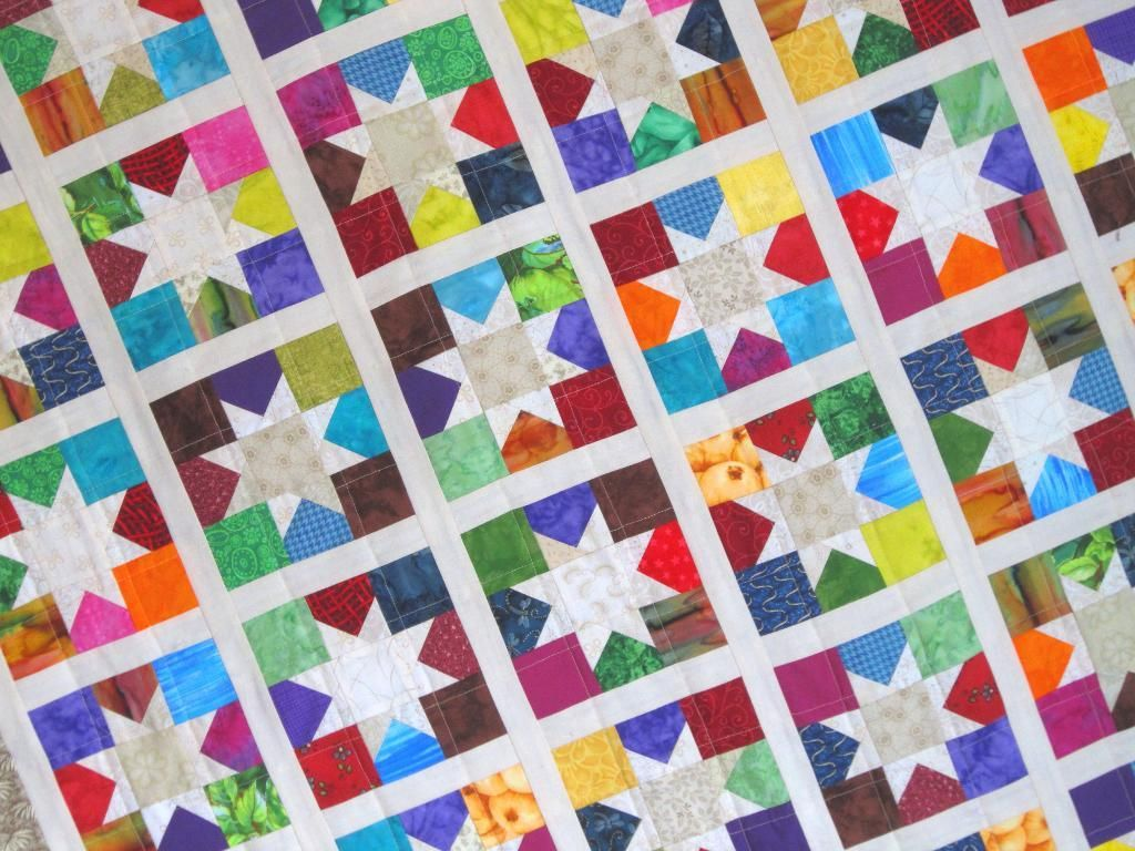 Image of: Easy Strip Quilt Patterns for Beginners