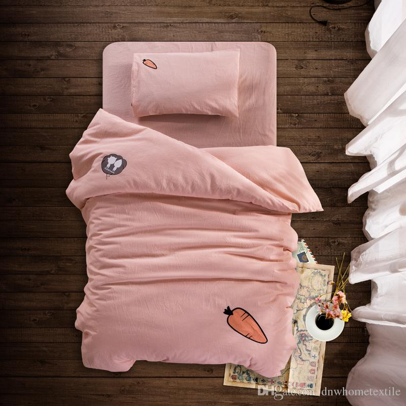 Image of: Embroidered Baby Quilts Pink