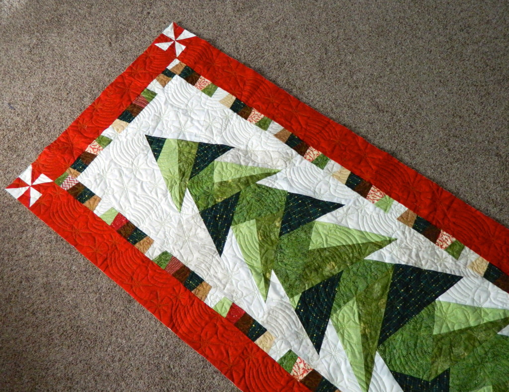 Image of: Fir Tree Quilt Patterns