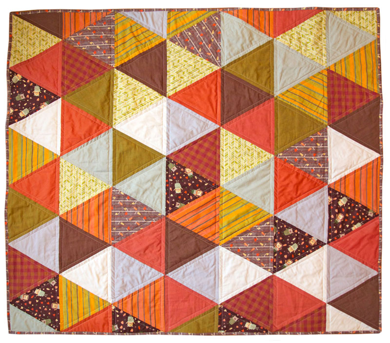 Image of: Flannel Quilt Patterns Sample