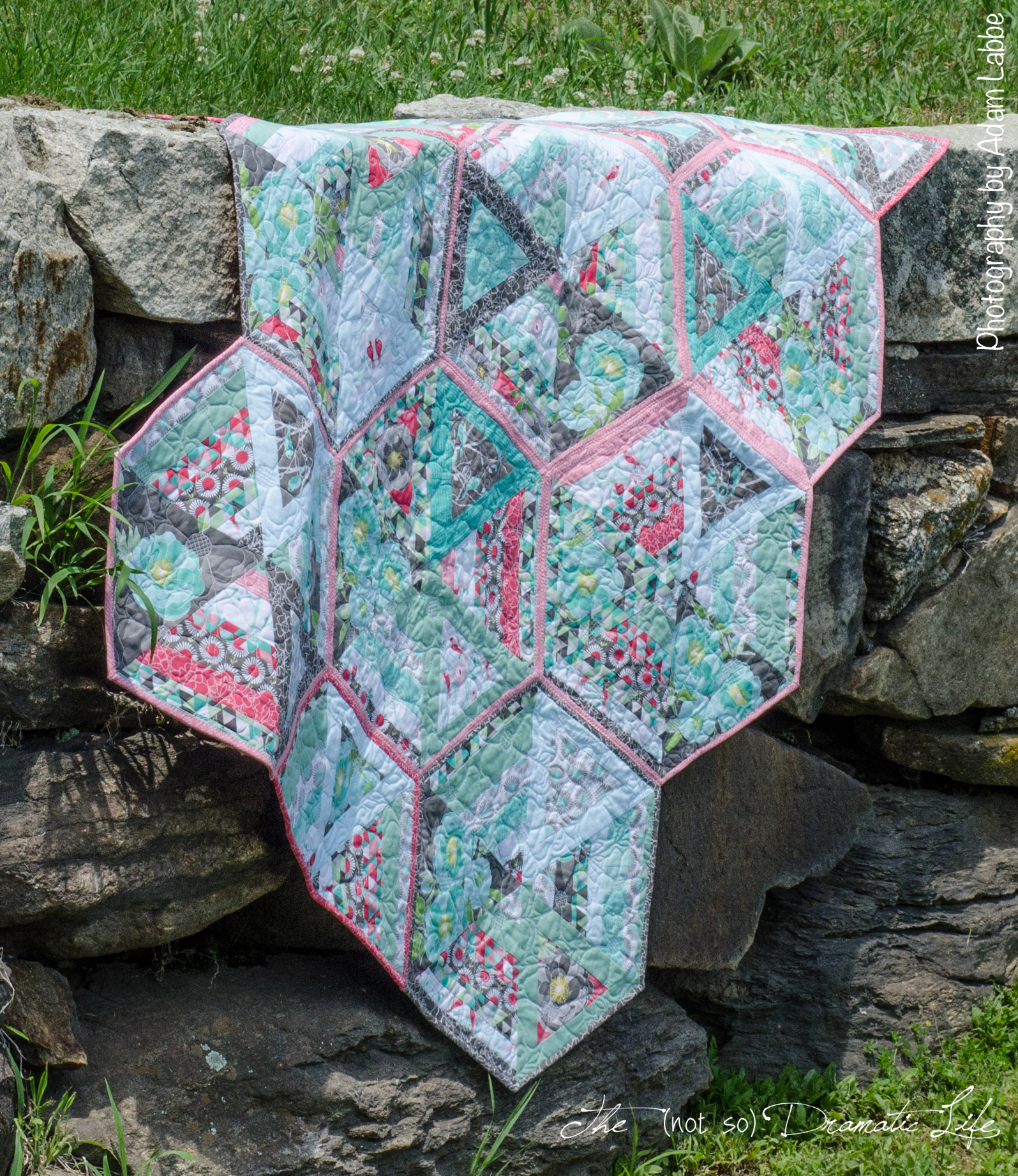 Picture of: Flower Quilt Patterns Color