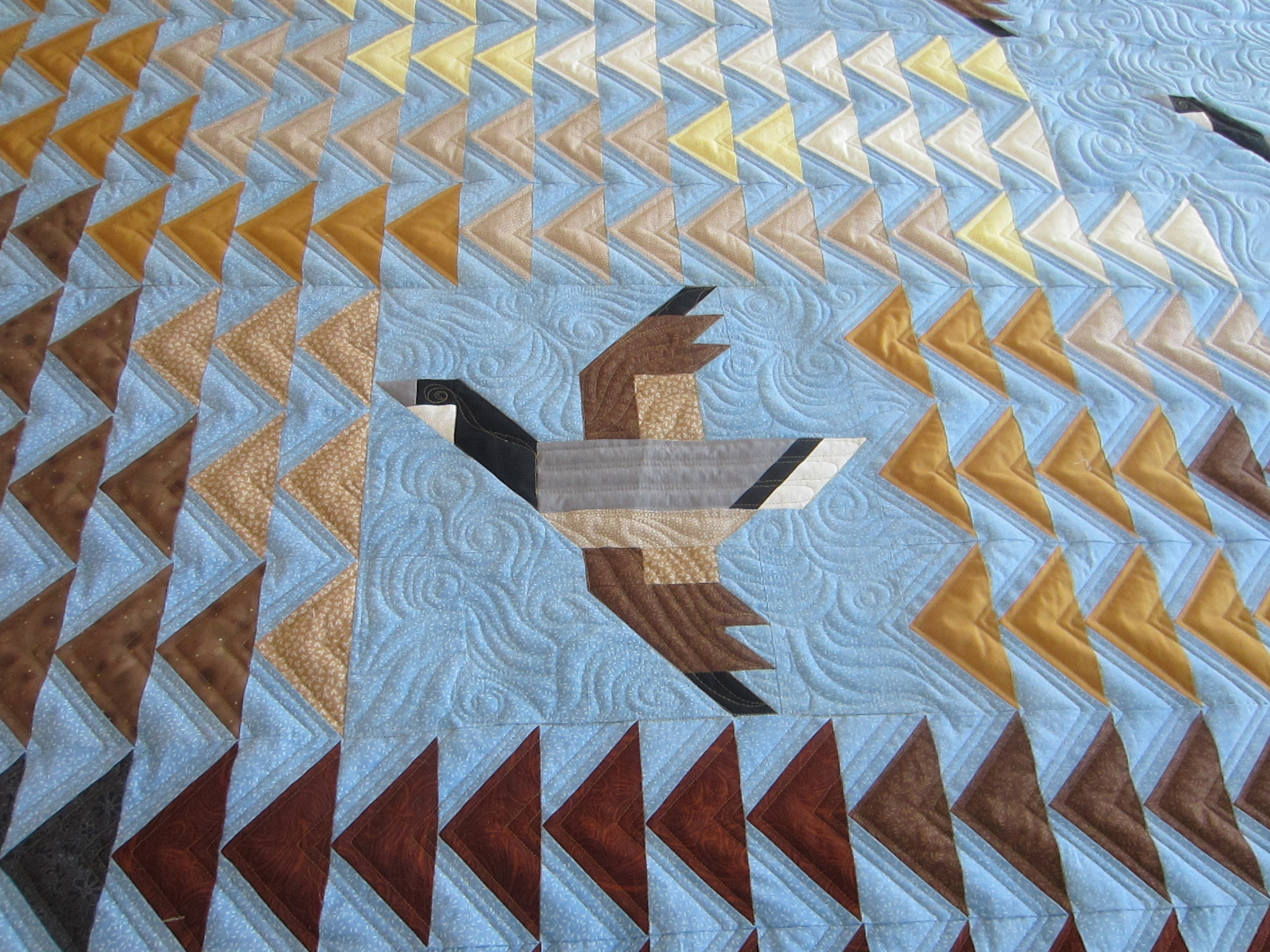 Image of: Flying Geese Quilt Pattern History