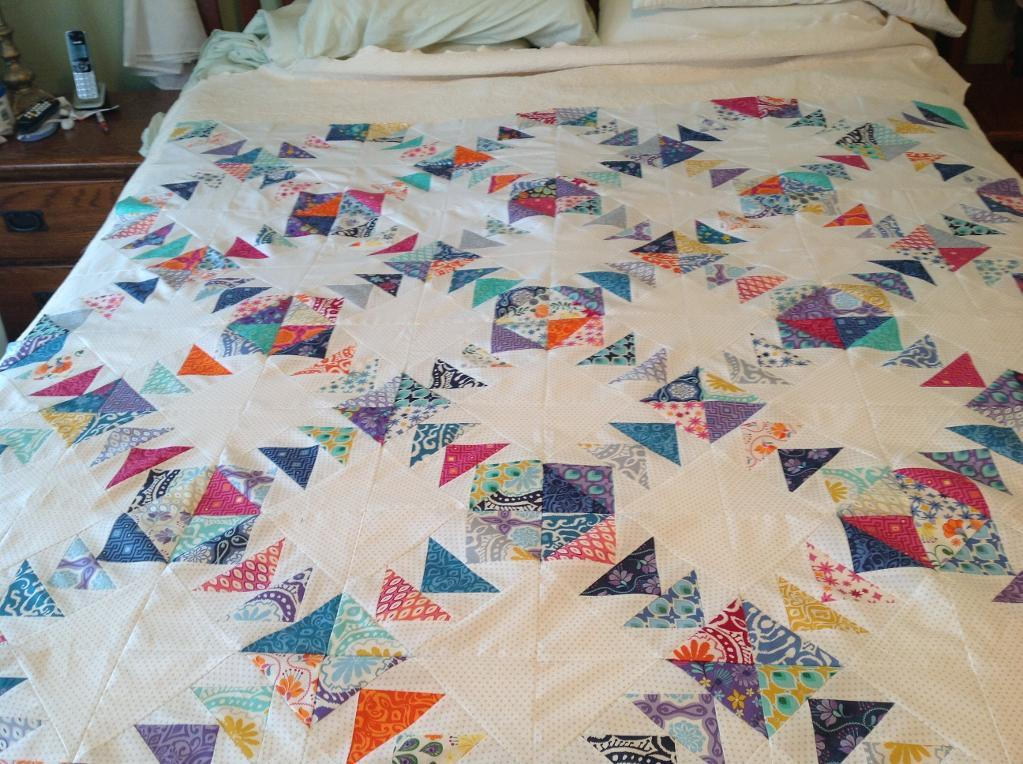 Image of: Flying Geese Quilt Pattern Measurements