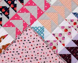 Image of: Flying Geese Quilt Pattern Sizes