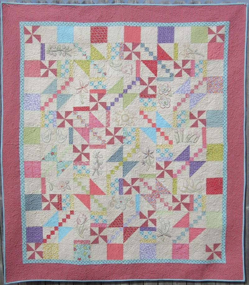 Picture of: Free Hand Embroidery Quilt Patterns