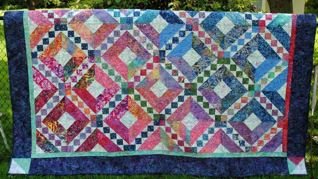 Image of: Full Batik Quilt Patterns