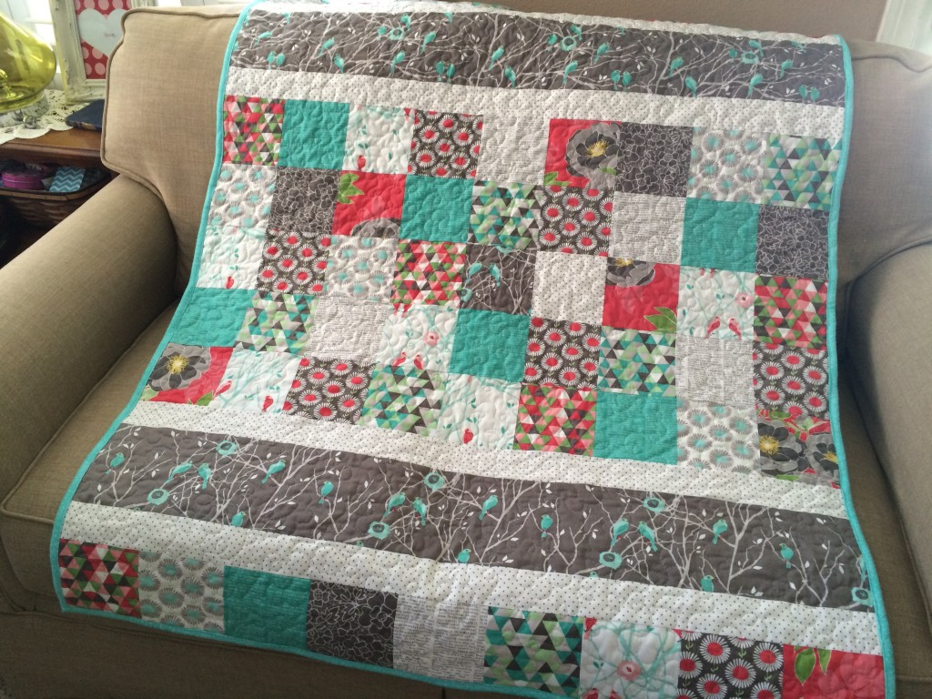 Image of: Garden Baby Quilts