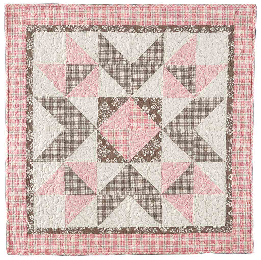 Image of: Girl Baby Quilt Patterns