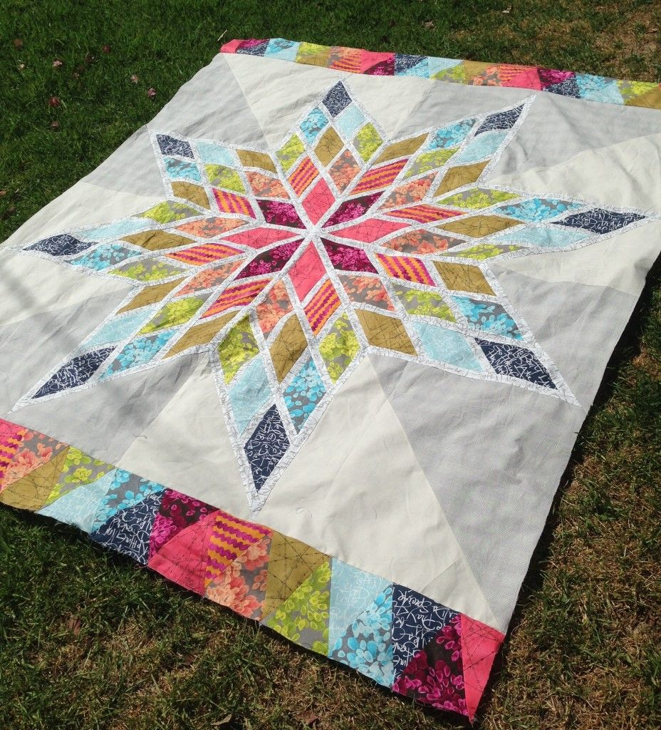 Girls Diamond Quilt Pattern