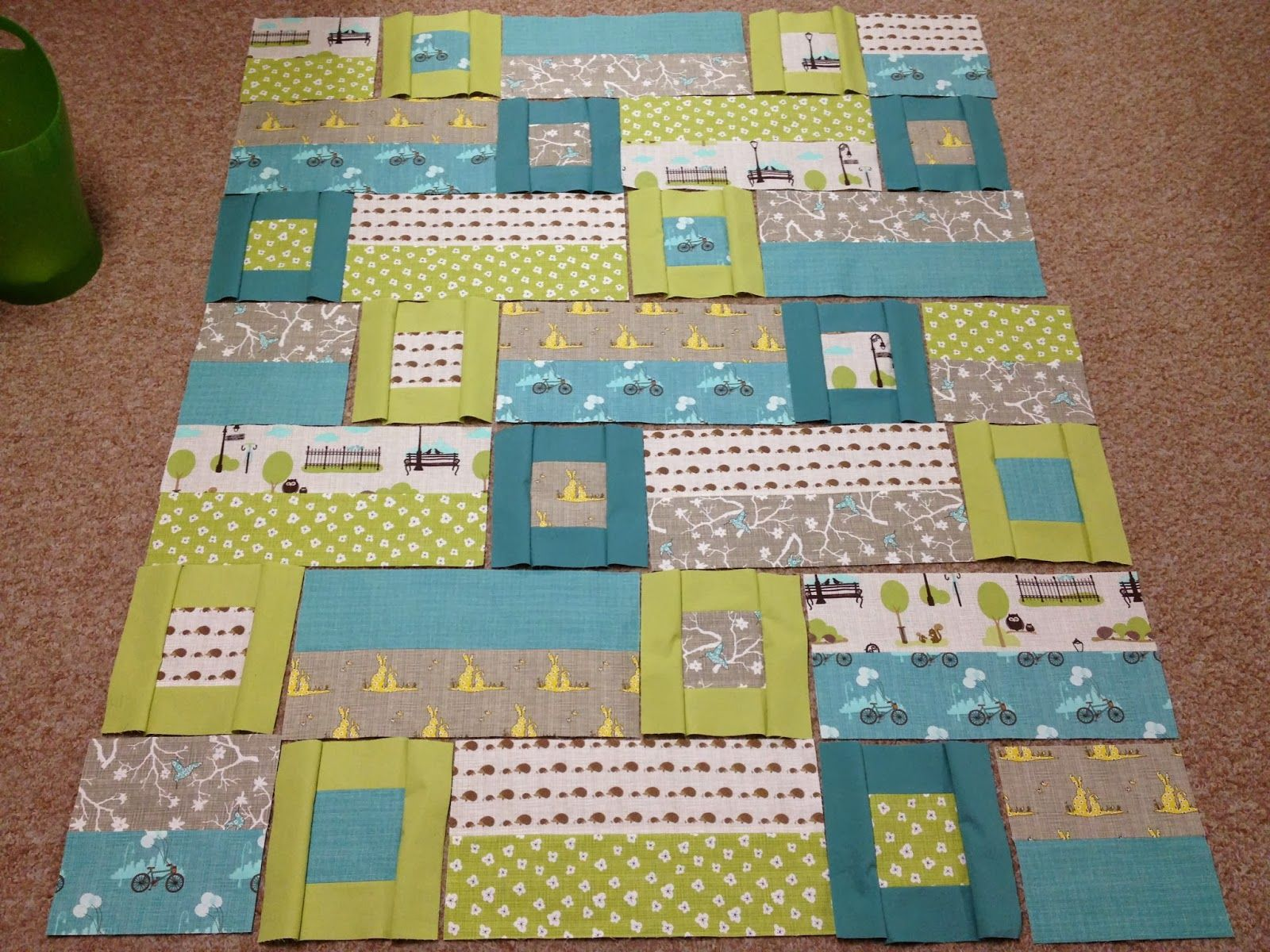 Picture of: Good Simple Baby Quilt