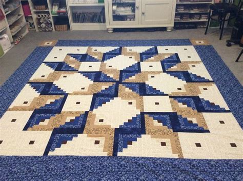 Picture of: Great Log Cabin Quilt Pattern