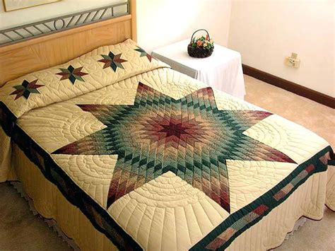 Image of: Great Lone Star Quilt Pattern