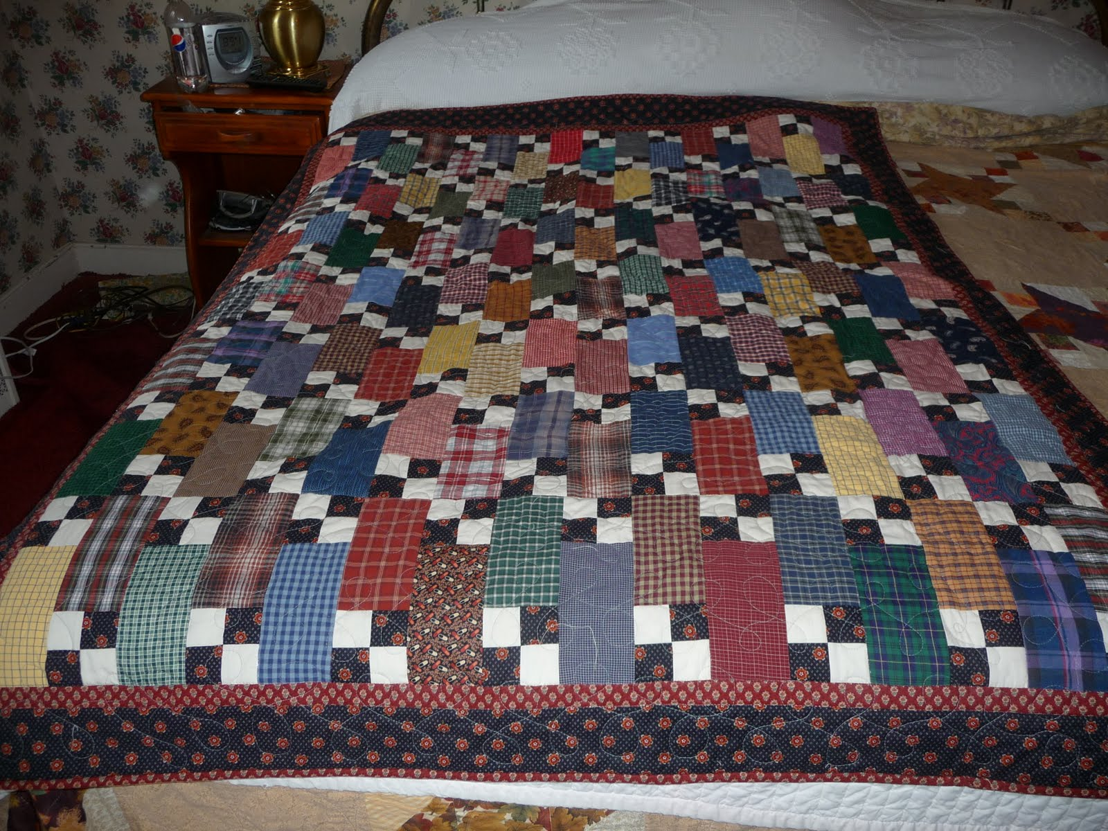 Image of: Great Quilt Patterns for Men