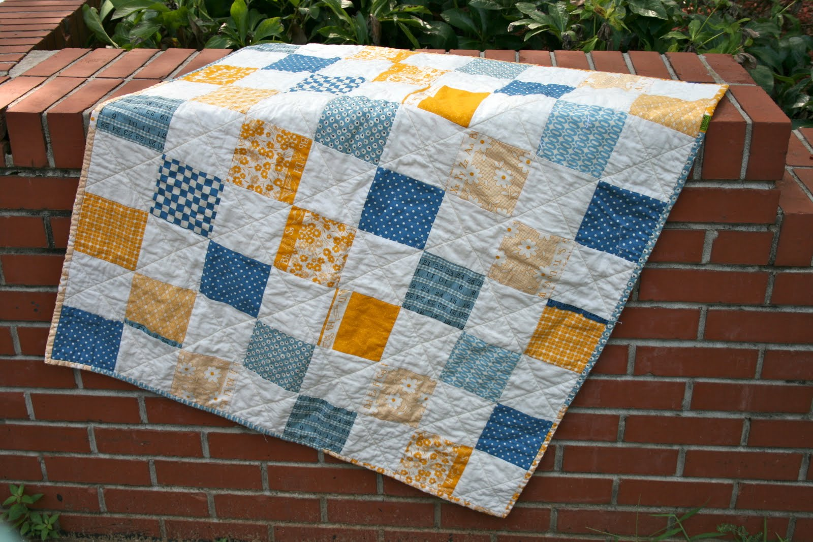 Picture of: Great Simple Baby Quilt