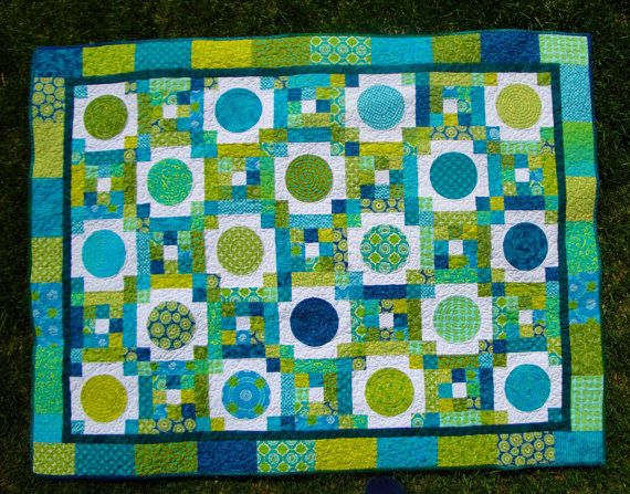 Picture of: Green Circle Quilt Patterns