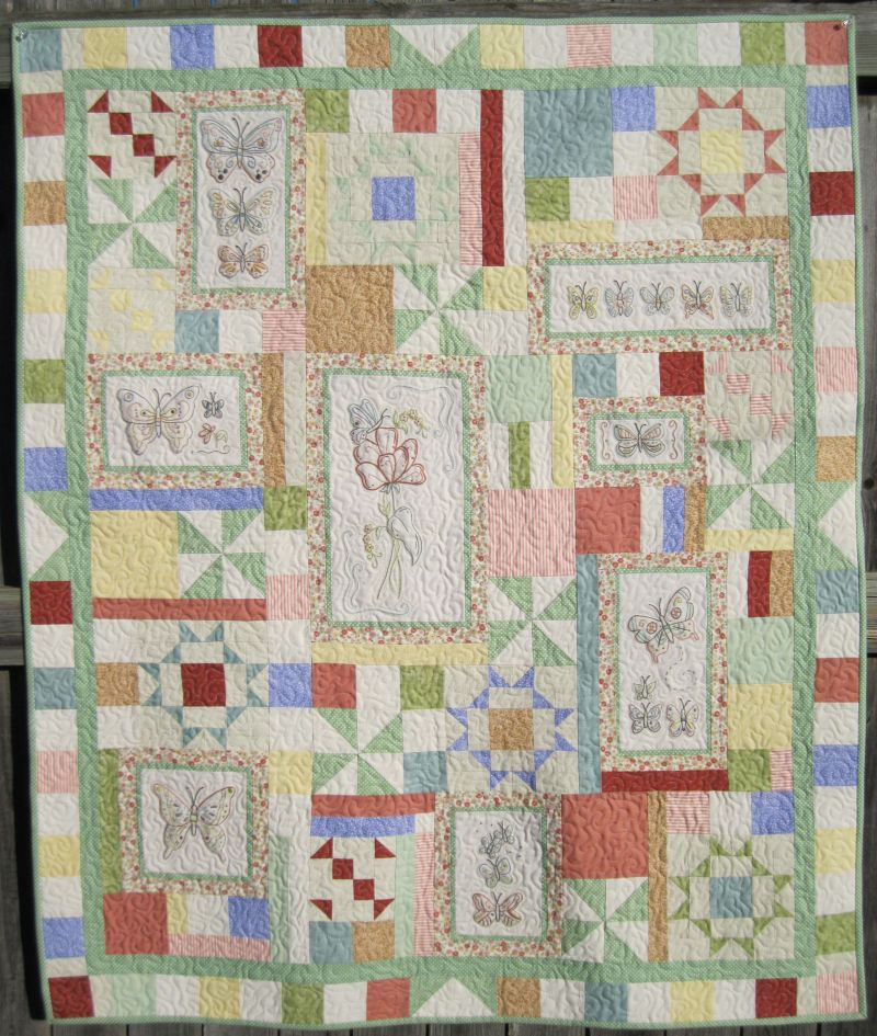 Picture of: Hand Embroidery Quilt Patterns