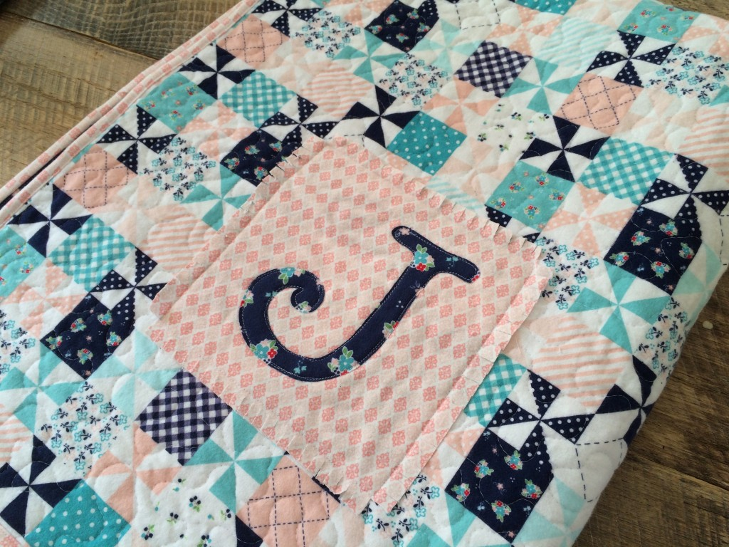 Image of: Handmade Baby Quilts J
