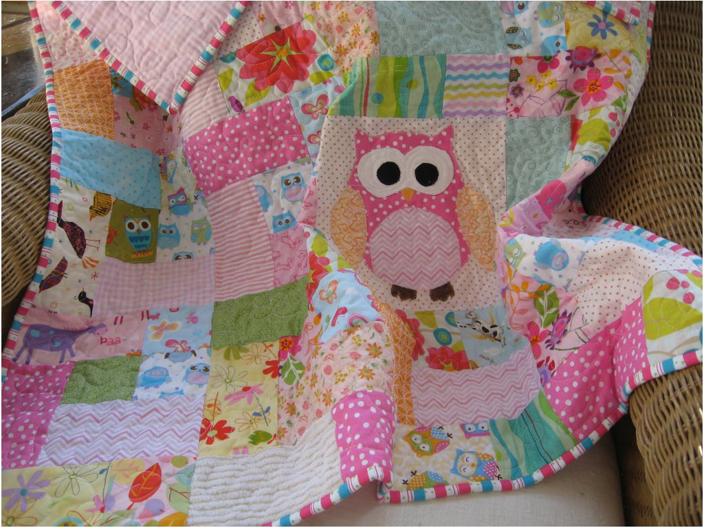 Image of: Handmade Baby Quilts Own