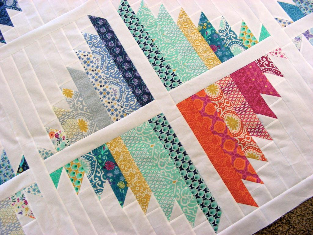 Image of: Handmade Baby Quilts Patterns