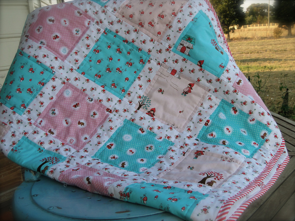 Image of: Handmade Baby Quilts Sweet