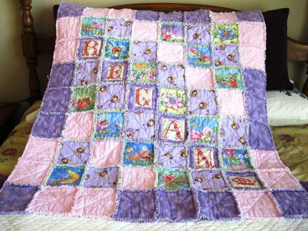 Image of: Handmade Baby Quilts Vintage