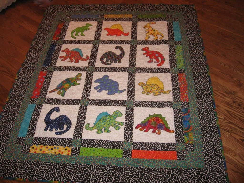 Harry Potter Baby Quilt Dinosaur