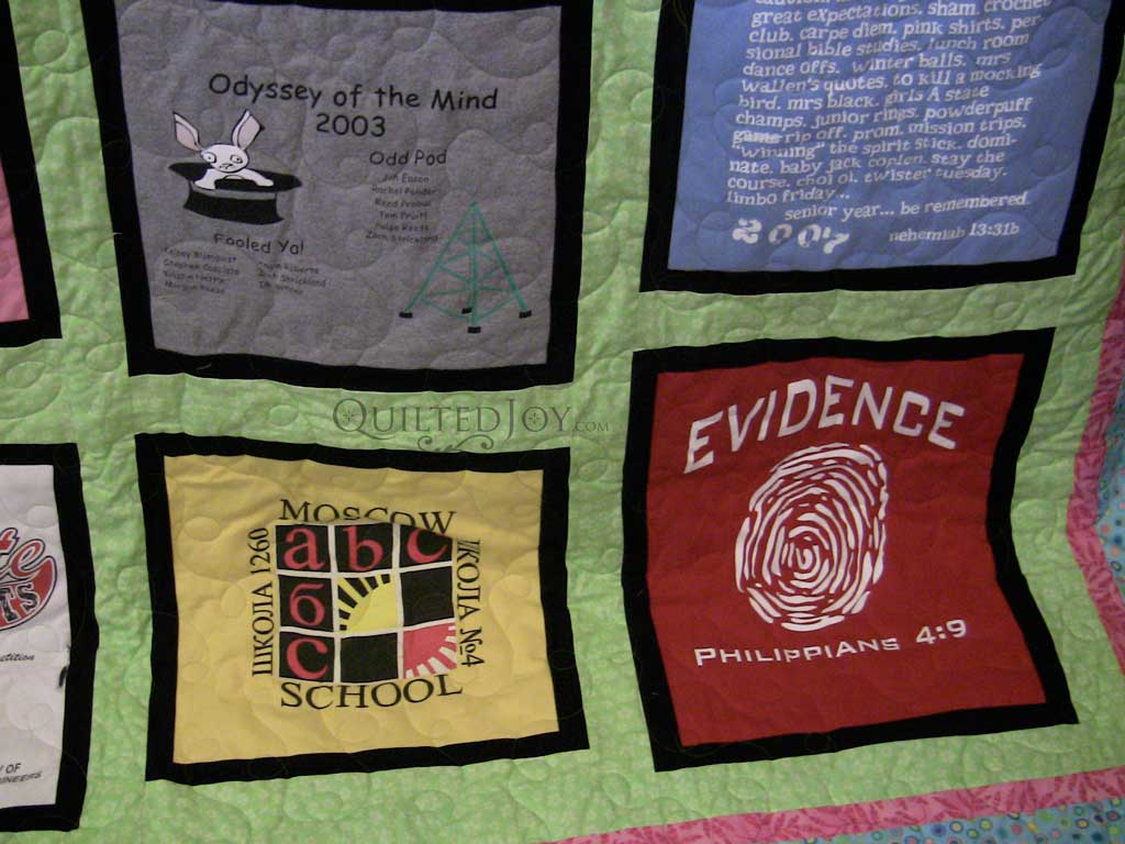 Image of: Harry Potter Baby Quilt School