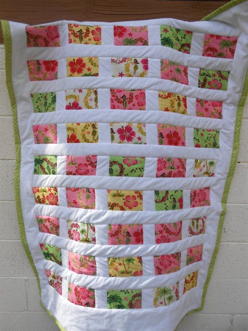 Image of: Hawaiian Quilt Patterns Pictures