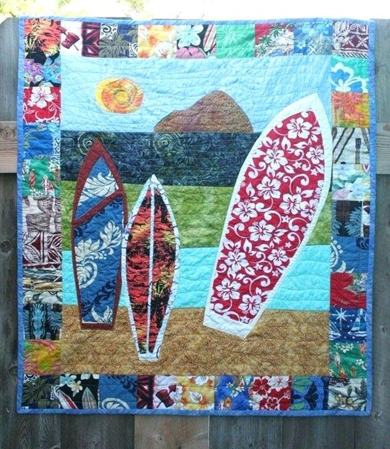 Image of: Hawaiian Quilt Patterns