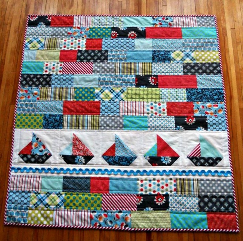Image of: Homemade Hawaiian Quilt Patterns