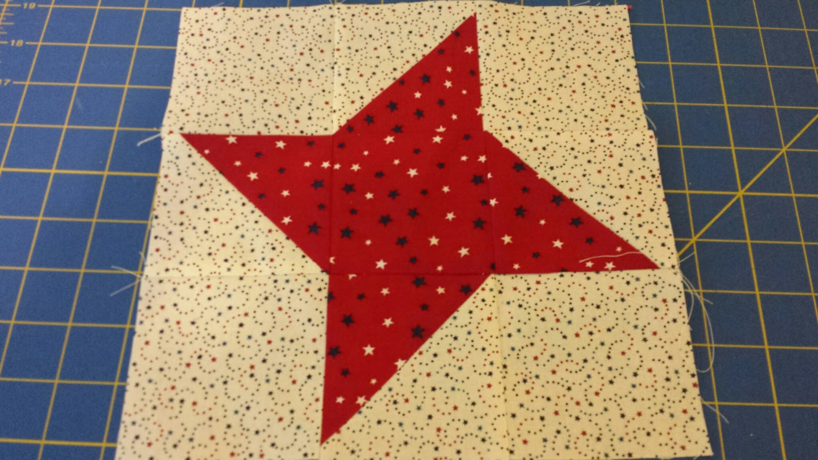 Image of: Hunter Star Quilt Pattern