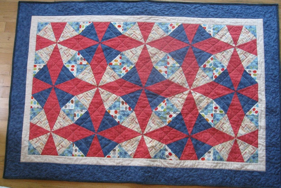 Image of: Ideas Kaleidoscope Quilt Pattern