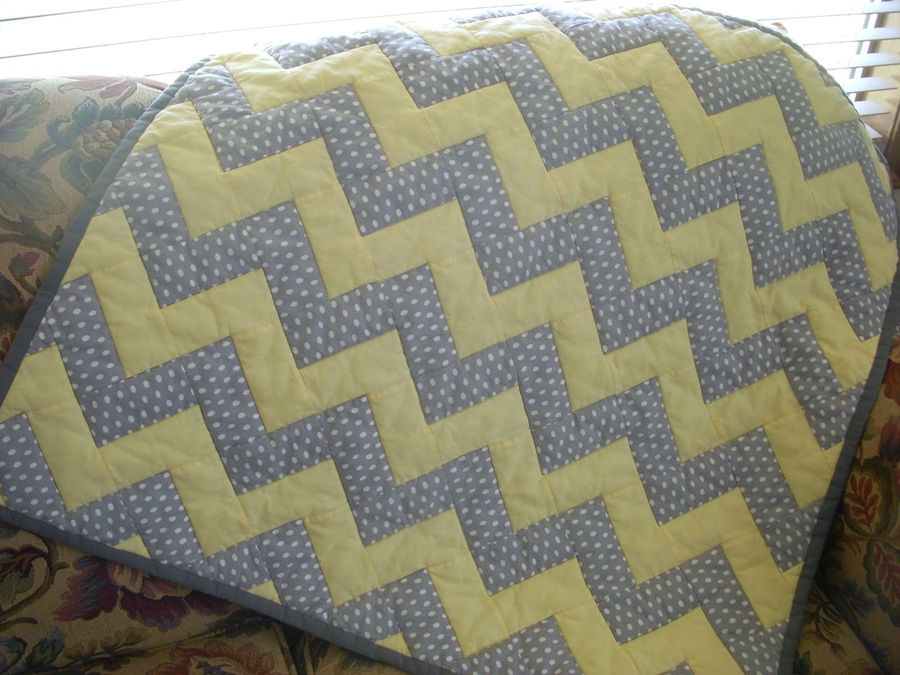 Image of: Images Chevron Quilt Pattern