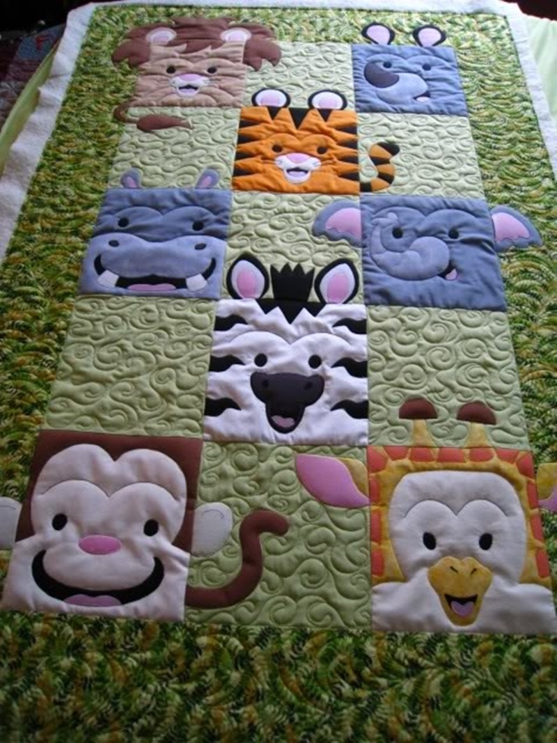 Picture of: Images Homemade Baby Quilts